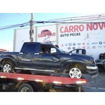 Sucata Ford Ranger 2.3 4x2 Gasolina Peças Motor Cambio