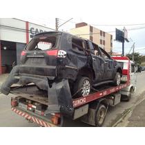 Sucata Mitsubishi Pajero Dakar 3.2 Diesel Peças Motor Cambio
