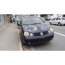 Vw Polo 1.6 8v Hatch 2003 (sucata Somente Peças)