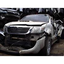 Peças Para Hilux 2012 Motor 3.0 Turbo Diesel Cambio Aut 4x4