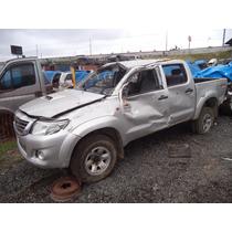 Sucata Peças Toyota Hilux Srv 3.0 Diesel 2014