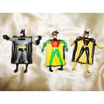 Batman Batgirl Robin Super Herois Liga Da Justiça Mc Donald