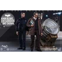 Dark Knight Rises: John Blake Jim Gordon Bat-sinal Hot Toys