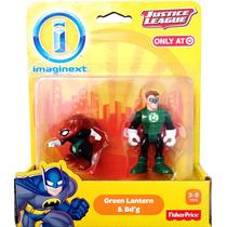 Dc Imaginext Bdg & Green Lantern Lanterna Verde