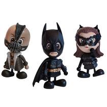 Boneco Batman The Dark Night Rises Mini Cosbaby Hot Toys Dc