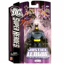 Batman Justice League Unlimited Dc Mattel Action Figure