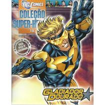 Miniatura 18: Gladiador Dourado Colecao Herois Dc Bonellihq