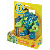 Imaginext Medieval Orc Do Castelo Pronta Entrega