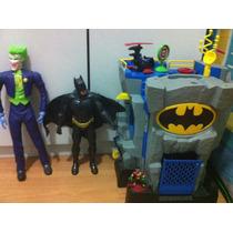 Coleção Batman Dc Batcaverna Imaginext Fisher Price