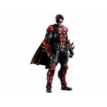 Boneco Batman Robin Arkham Origins Play Arts Kai Square Enix