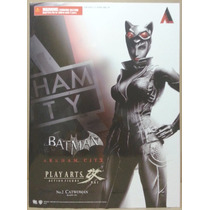 Tk0 Toy Play Arts Kai Dc Batman Arkham City Catwoman