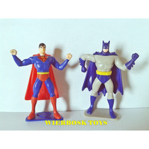 Coleção Ferrero Maxi Kinder Ovo Batman Vs Superman Dc Jle