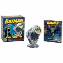Batman Bat Signal Mini Bat Sinal Miniatura Dc Comics Acende
