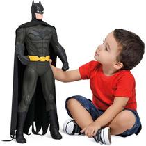 Boneco Batman 55 Cm Brinquedo Gigante Articulado Bandeirante