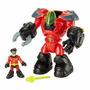 Imaginext Dc Super Friends Robin & Mechanical Suit