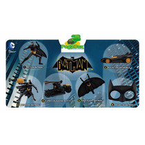 6 Bonecos Batman Mc Donalds 2013 - Dc Lacrado