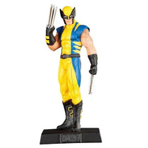 Miniaturas Marvel Eaglemoss Wolverine X-men Em Metal
