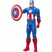 Capitão América Titan Hero Series - 30 Cm - Hasbro