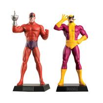 Pacote Marvel Com 2 Miniaturas - Garra Sônica E Batroc