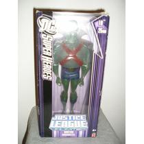 Boneco Martian Translúcido * Liga Da Justiça *mattel*25 Cm