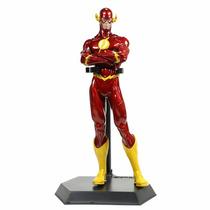 Boneco The Flash Dc Liga Da Justiça 25 Cm Com Base