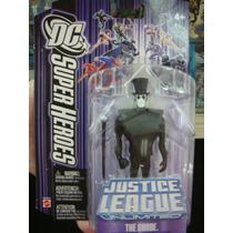 Liga Da Justiça Sem Limites - The Shade Com 10cm - Mattel
