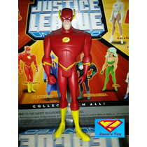 The Flash 12 Cms/frete Gratis(jlu)+de 500 Personagens Disp