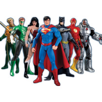 Liga Da Justiça - Justice League 7 Pack Box Set New 52 - Dc