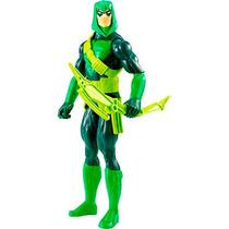 Boneco Dc Liga Da Justiça Arqueiro Verde 30cm Mattel Oficial
