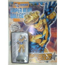 Dc Super Hero Figurine Collection #020 Booster Gold!