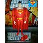 Red Superman 12 Cms/(jlu)liga Da Justiça-justice League