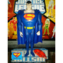 Blue Superman 12 Cms(jlu)liga Da Justiça-justice League