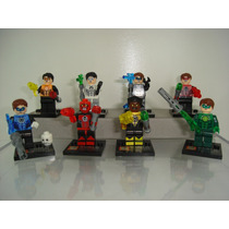 Lanternas Verdes A Tropa Dos Blocos De Montar - Lego Decool