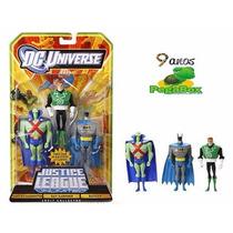 3 Bonecos Guy Gardner Ajax Batman Jlu Liga Justiça