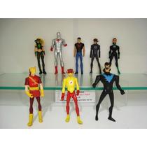 Justiça Jovem E Jlu Artemis Lince Kid Flash Superboy Nightw