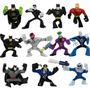 Kit Liga Da Justiça 11 Bonecos Batman Coringa Series