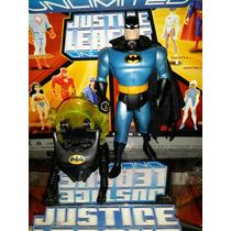 Batman Combat Helmet 12 Cms(jlu)liga Da Justiça-justice Leag