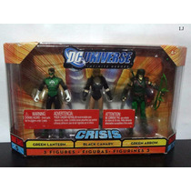 Dc Universe - Green Lantern - Black Canary - Green Arrow