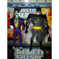 Batman & Joker 12 Cms/frete Gratis(jlu)+de 400 Personagens