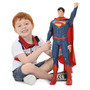 Superman - Man Of Steel - Homem De Aço 55cm Articulado