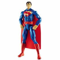 Boneco Superman Liga Da Justiça 30cm Mattel Cdm62 Articulado
