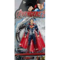 Superman Boneco Articulado Marvel Avengers Vingadores