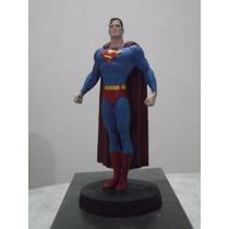 Miniatura Superman Dc Eaglemoss Metal Pintado A Mão