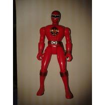 Boneco Coleção Power Ranger Força Animal Original Red