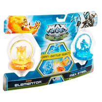 Turbo Battlers Max Steel Vs Elementor Mattel Y9483