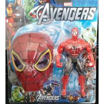 Kit Heróis 3 Bonecos ( Hulk/ Batman E Homem Aranha)1 De Cada