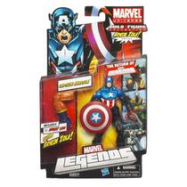 Figura Captain America Marvel Legends Arnim Zola Capitão Bo
