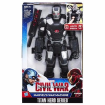 Boneco War Machine Eletrônico Titan Hero - Hasbro C-001c