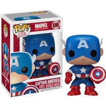 Captain America Marvel Universe Pop! Vinyl Bobble-head Funko