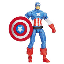 Marvel Universe - #04 Captain America - Hasbro